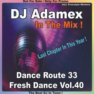 DJ Adamex - Dance Route 33 Megamix Fresh Dance Vol.40