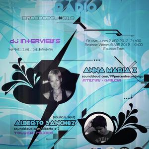 Alberto Sanchez - Progressive Planet Radio Broadcast 018 - Abr 2012