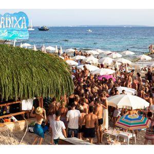 Danny Rampling -live at Sa Trinxa beach bar- Salinas beach Ibiza -12th July 2016 Pioneer radio.