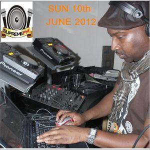 NIGEL B SHOW ON SUPREME FM (SUN 10th JUNE 2012)