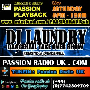 DJ LAUNDRY | DANCEHALL  TAKE OVER RADIO SHOW | 20-03-16 |  saturday 8pm (gmt)