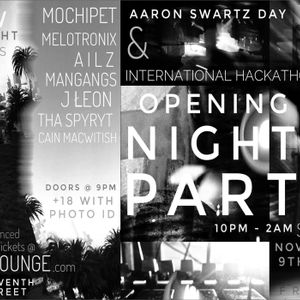Aaron Swartz Day '18 Opening Party @ DNA Lounge San Francisco