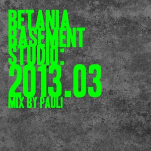 Betania Basement Studio 2013.03