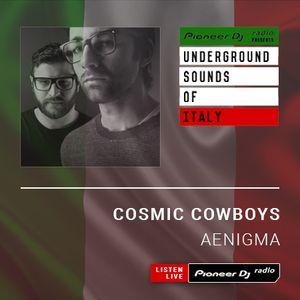 Cosmic Cowboys - Aenigma #001 (Underground Sounds Of Italy)