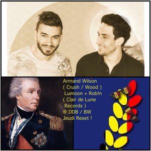 Armand Wilson vs Lumoon + Rob!n ( Clair de Lune Records ) @ DDB / Jeudi Reset !