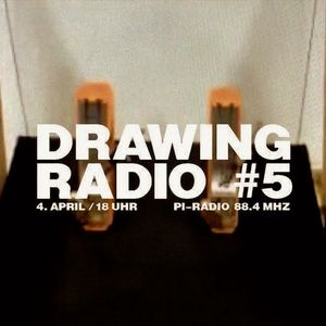 drawing radio #5 / collage one