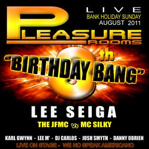 LEE SEIGA LIVE  -  AT LIVERPOOLS FAMOUS AFTERHOURS THE PLEASURE ROOMS  2011