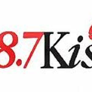 98.7 KISS FM DJ Tony Humphries Wendy Williams Jan 1990
