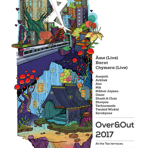 DJ set - OVER & OUT 2017 at the Tao Terraces
