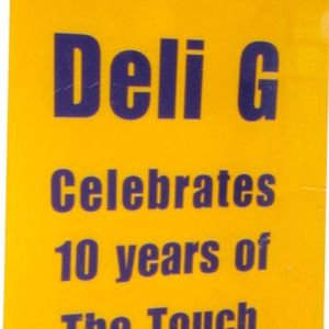 The Touch with Deli-G 22nd August 2015