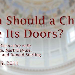 When Should a Church Close Its Doors?