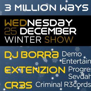 03 - Cr3s - 3 Million Ways 050 [ 25-dec-2013 ]