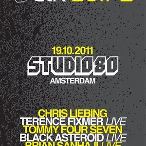 Chris Liebing Live @ CLR Night, (ADE Special,Studio 80) 19.10.11