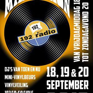 radio 192/extra gold vinylmarathon zaterdag 19 september 2015 van 13 tot 17 uur