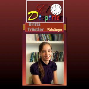 Entrevista a Brita Tröstler Psicóloga . En El Despertar  RTC Madrid 94.2 Fm