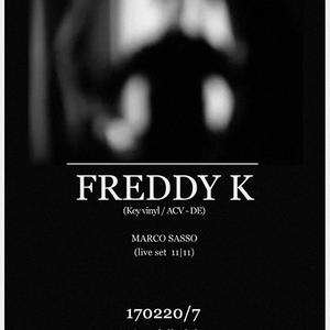 dj set @ 11|11 presents Freddy K - 17.02.2017 Palermo