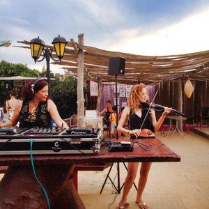 Infinite Music feat. Belinda on violin at Ibiza Global Radio 28.08.2015