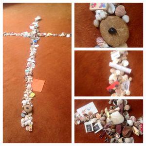 Creating the Lenten Cross - - Rev. Dr. Ayvazian - - February 14, 2016