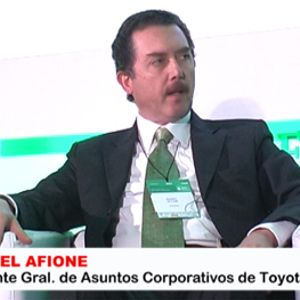 Daniel Afione Gerente Gral De Asuntos Coorporativo de Toyota Trabajadores Y Empresarios