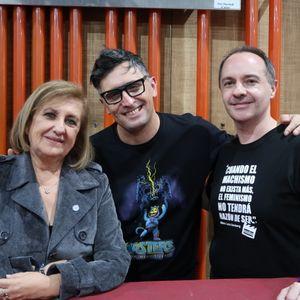 Catalina Dlugi y Rolando Gallego en No Se Puede Vivir del Amor 24-05-19