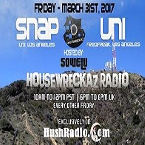 HouseWreckaz Radio 150 Ft Snap and UNI / Hosted By Sowelu