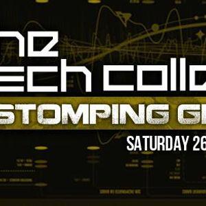 Ninja Gaijin - DJ set at Tech Collective #9 (Dark Jungle 26 Mar 2016)