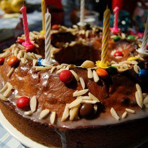 Geburtstagskuchenmix