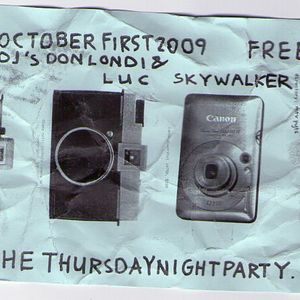 Luc Skywalker exclusive nightclub edition at Downstairs 2009: minimal, disco, funk
