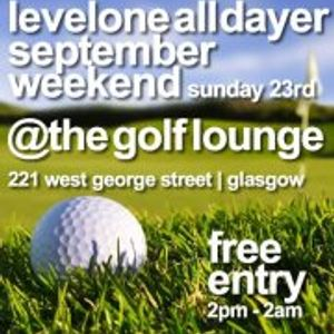 Lee Armstrong does Levelone September Weekend