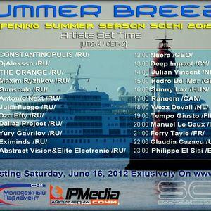 Julia Fuego - Summer Breeze Opening on SCS.FM 16-06-2012