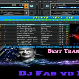 Fab vd M Presents A Trip To The Trance World Episode 19 Season 11 Remixed