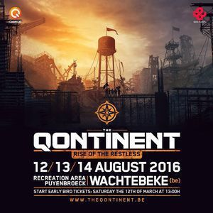 Ran-D @ The Qontinent 2016 - Rise Of The Restless