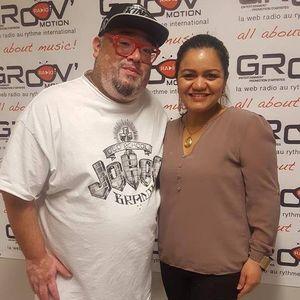 mundo urbano on groovmotion radio canada 07-04-2017 interview whit leticia rubi
