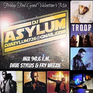 Friday Feel Good Valentines Mix 96.6 FM (Mad Love)