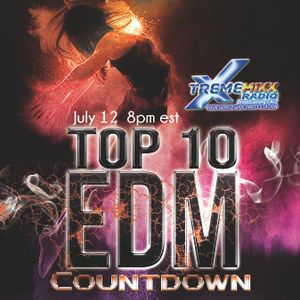 Top 10 EDM Countdown with Freestyle Chulo and DjLexx 7-12-16