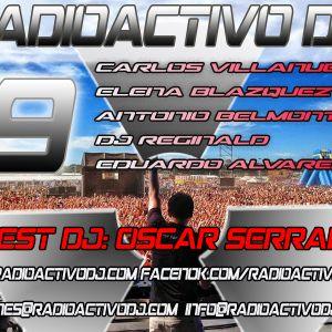 RADIOACTIVO DJ 19-2015 BY CARLOS VILLANUEVA