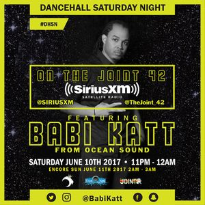Dancehall Saturday Night 061017 (Caribbean Heritage Month Edition)