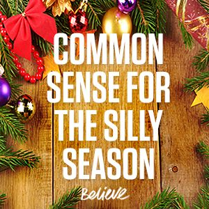 Silly Season Commonsense: How to Take a Holiday