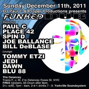 Live @ Funked Dub Dec 11, 2011