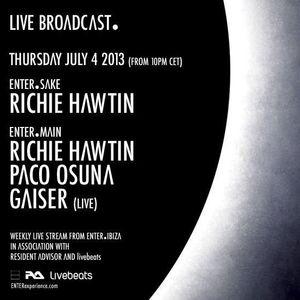 Richie Hawtin - Live At ENTER.Main Week 01 (Space - Ibiza)-PART1-04-July-2013