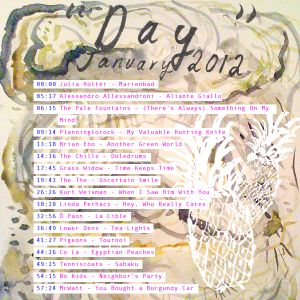 """""""Day,"""" a mix for January"""