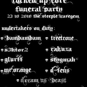 Glurff @ fucked up core funeral 23.10.2010 Steeple Waregem