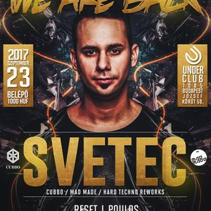 Dave Blunt @ We Are Back 2017.09.23. (Budapest, Under Club) Part 2