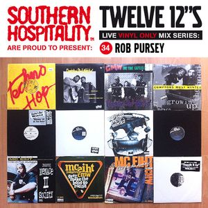 Twelve 12's Live Vinyl Mix: 34 - Rob Pursey - Compton's Most Wanted Special!