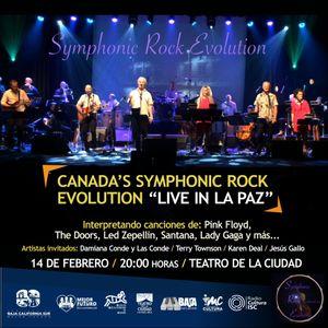Entrevista a Las Conde concierto Canada's Symphonic Rock Evolution