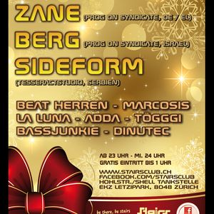 Beat Herren - Live Mix - Christmas Special Party @ Stairs Club Zurich