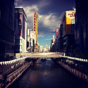 Walking Through Osaka