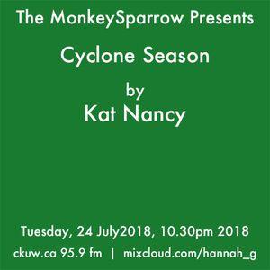 Cyclone Season - Kat Nancy . MonkeySparrow.