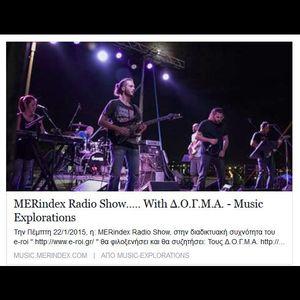 MERindex Radio Show….. With Δ.Ο.Γ.Μ.Α.