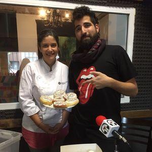 Euge Sanchez de Palomitas Dulces nos deleitó con sus donas y cupcakes